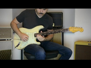 The chainsmokers ft. daya - dont let me down - electric guitar cover