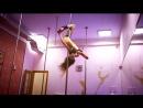 Динамичный пилон/Анастасия Павлова/тренировка pole dance exotic