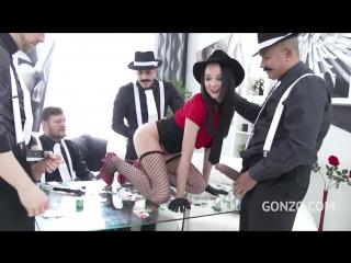 Групповой секс с тройным проникновением... в попу (anal, DAP, TAP, cum swallow, gangbang)