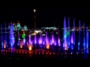 Аква шоу Феникс в Сочи парке.Fountains. Aqua show Phoenix in Sochi Park. fountain Theater.