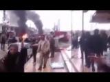 Последствия мощного взрыва около сирийской Латакии запечатлены на видео