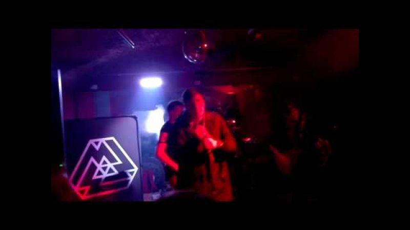Abyss, Watching Me - Goals (ft. Denis Stoff) Live in Prague (Rockberry Bar Music Club)