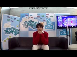 [ENGSUB] 161119 KYUHYUN reaction on MBC Music Core
