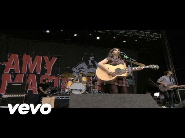 Amy Macdonald This Is The Life Live at V Festival 2008