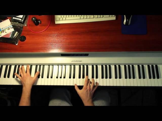Мой Друг Лучше Всех Играет Блюз - как играть фортепианный рифф