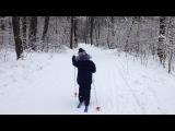 Лыжню! Уступите парню лыжню!