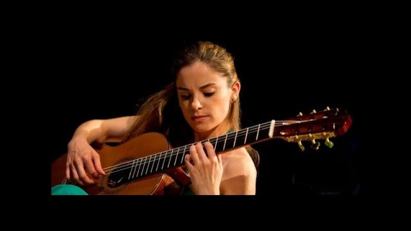 Ana Vidovic plays Recuerdos de la Alhambra by Francisco Tarrega