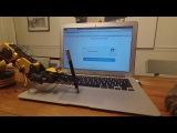 Robot beats 'I am not a Robot' Captcha Робот вводит капчу