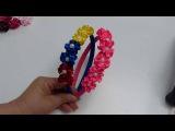 Como decorar una diadema  facilmente, #521