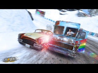 Flatout 4׃ Total Insanity Gameplay Trailer