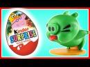 ЭНГРИ БЁРДС - Все серии подряд. Мультик. Киндер сюрприз. Злые птички. Супергерои. Angry Birds