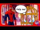 ЭЛЬЗА и ЧЕЛОВЕК ПАУК против СУПЕРМЕНА Мультики Frozen Elsa Spiderman Animation Love Story