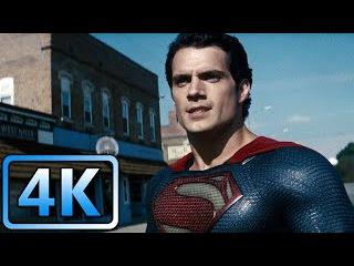 Smallville Fight (Part 1) | Man of Steel (2013) | 4K ULTRA HD