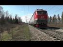 Электровоз ЧС7-014 с поездом № 096 Брест - Москва