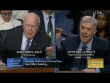 Democrat Leahy baits Judge Gorsuch on Trump