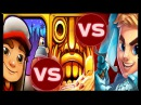 Temple Run 2: Blazing Sands VS Blades of BRIM VS Subway Surfers: Las Vegas