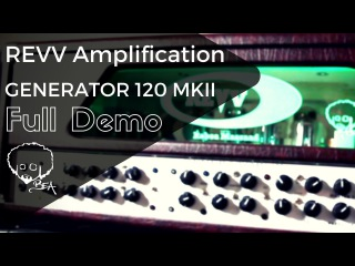 Revv Generator 120 MKII Full Demo - Ultimate Riffing Amplifier