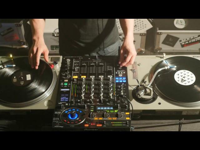[4K] Dark Techno, Techno, Tech- House, Acid - Vinyl Mixset 04/2017 - Nico Silva Oliveira