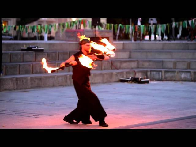 Contact staff fire show 2015
