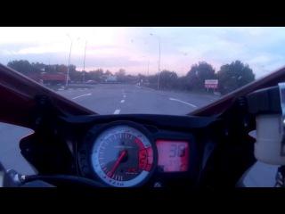 GoPro   Suzuki GSX-R 600   Ртутный туман  M4   Ростов   Day/Night   D.Korza
