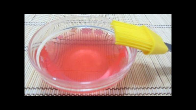 Cách làm mềm bánh siro cam đường rượu bánh kem sinh nhật Bánh bông lan thân cốt bánh gato