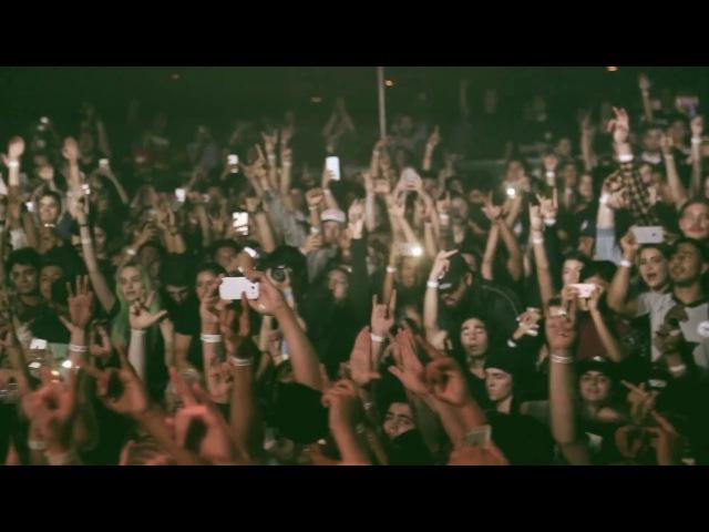 $uicideBoy$ bring out Pouya in Santa Ana DN$ Tour