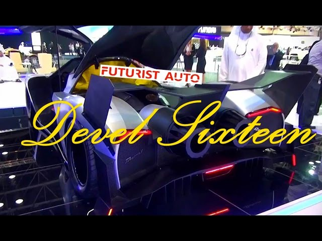 Гиперкар Devel Sixteen 5,000hp Crazy V16 560km/н