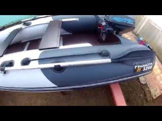 Обзор лодки ПВХ, Ривьера 320 СК, и лодочного мотора Mikatsu 9 8 л с
