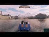 Mafia 3 (Гоняем на катере, осматриваем окрестности с воды, пока нет самолёта)