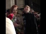Мэрилин Керро и Александр Шепс целуются после финала семнадцатой Битвы экстрас...