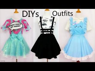 3 CoolCreative DIY Outfits: DIY Mint Shimmering SkirtBandage Suspender SkirtCat Maid Costume