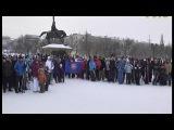 Через Волгу до Самарской луки на лыжах - в Самаре прошел экологический спортивны...