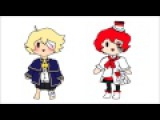 (Oliver and Fukase) We are number one from Lazytown (Vocaloid cover)