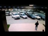 Видео с страшной аварии в Махачкале на ул Калинина  [Нетипичная Махачкала]