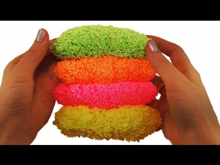 ★ How To Make Colors Cheese Stick Slime Clay DIY Foam Clay Slime Play For Kids Roma Show