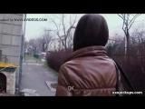 Public Blowjob For Money from Sexy Czech Slut Teen Girl  порно  секс  анал  молодые  порево  частное