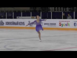 Minsk-Arena Cup. Chumakova Natalia. Free Skating. Adult - Pre-Bronze - Ladies - Class 1. Первое место)