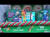 Выход фиксиков на детском празднике в ЖК