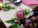 Букет из роз, гербер и лилий своими руками курсы флористики