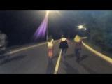 танцуют -Настя,Даша,Аня,а снимает ДАНЯ