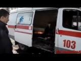 Обстрелы Донецка. Скорая помощь. Ранено 3 человека