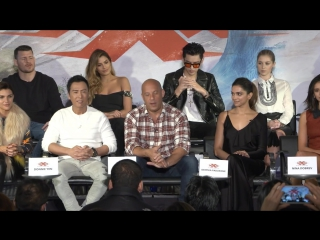 xXx Return of Xander Cage Complete Press Conference with cast, director and producer