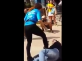 Woman Beats Guy in Public and Humiliates Him