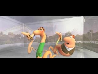 Ослепительный Барри и червяки диско (2008) HD 720p