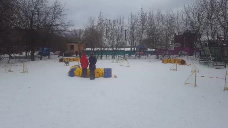 Екатарина Волкова и Декстер