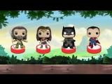 Мультик Для Детей, Киндер Сюрприз Бэтмен Против Супермена - Kinder Surprise BATMAN V SUPERMAN
