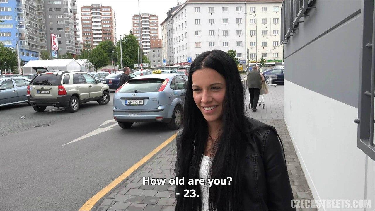 Czech Streets 86 (Анальный секс публично)