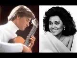 Kathleen Battle &amp Christopher Parkening Aria from Bachianas Brasileiras No. 5 - Villa Lobos