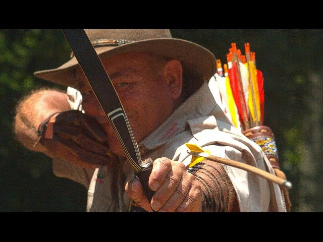 WORLD'S MOST AMAZING ARCHER in Slow Motion Smarter Every Day 130