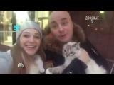 Катя Кокорина и Доминик Джокер в программе Двойные стандарты на канале НТВ